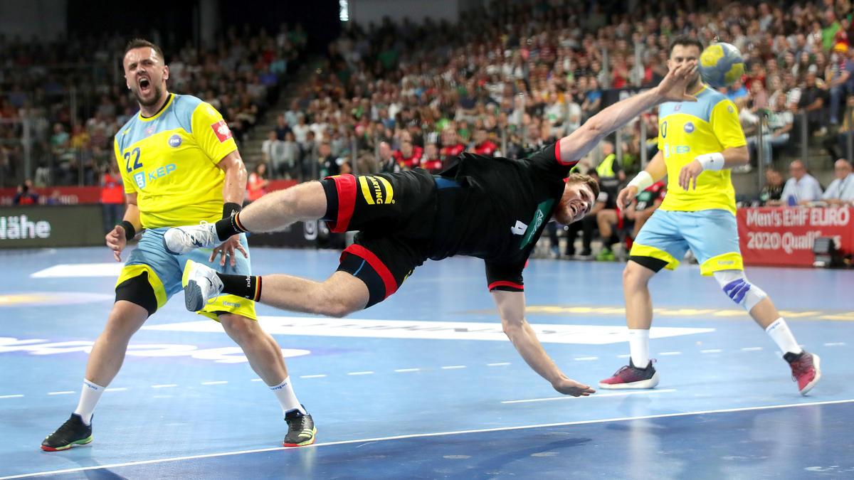 Deutsche Handballer gewinnen gegen Kosovo