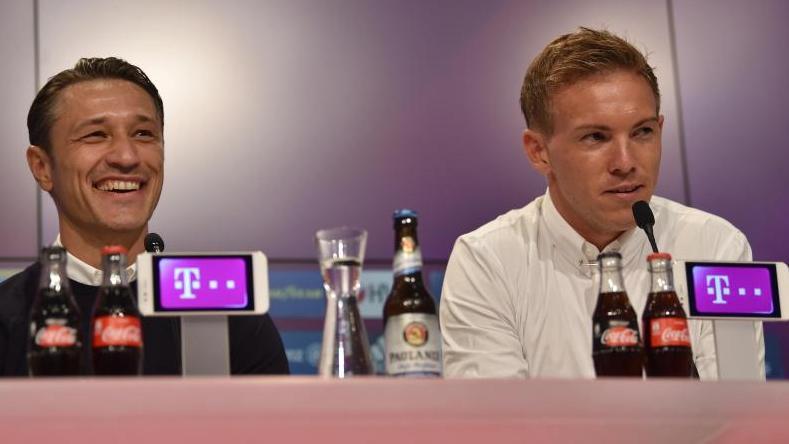 Niko Kovac und Julian Nagelsmann treffen am Samstag aufeinander