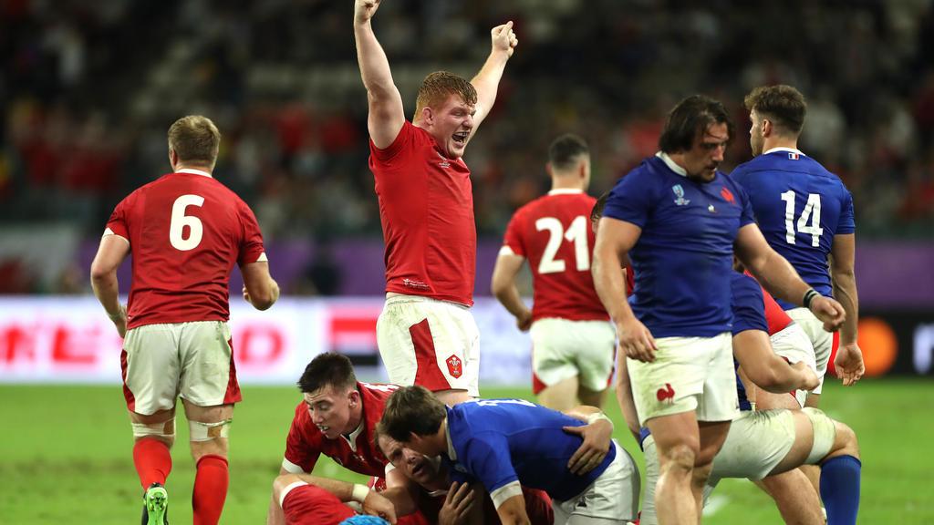 Wales steht nach dem Sieg gegen Frankreich im Halbfinale der Rugby-WM in Japan