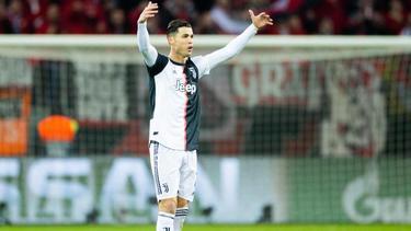 Träumt von einem Finale Juve gegen Real: Turins Starspieler Cristiano Ronaldo