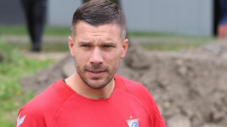 Lukas Podolski feierte kein erfolgreiches Debüt in der polnischen Liga