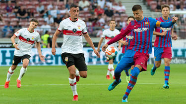 Der VfB Stuttgart verliert gegen den FC Barcelona