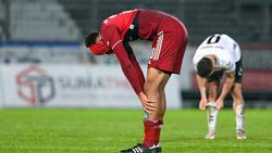 Der FC Bayern II verpasste einen Sieg gegen Wacker Burghausen