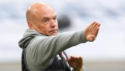 Kann wieder auf Torwart Steffen und Neuzugang Berisha bauen: Düsseldorfs Trainer Uwe Rösler