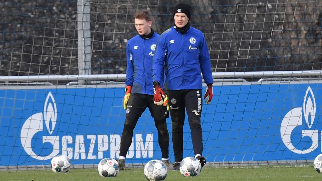 Markus Schubert (l.) will Alexander Nübel aus dem Schalker Tor verdrängen