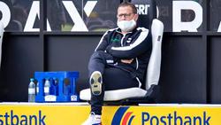Gladbachs Sportdirektor Max Eberl kassierte in Freiburg eine Rote Karte