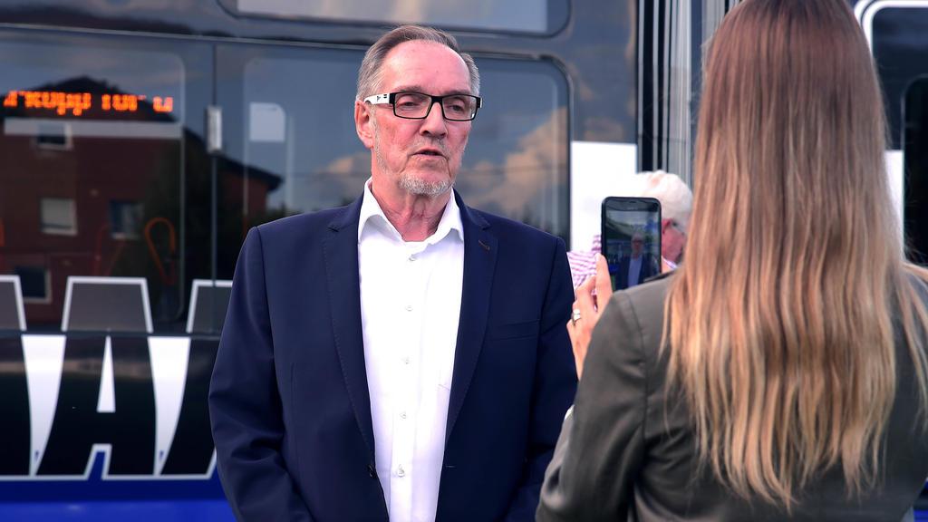 Hans-Jürgen Laufer muss sich mit