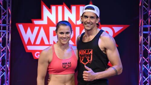Arleen Schüßler und Benedikt Sigmund gehen als Ninja-Paar an den Start