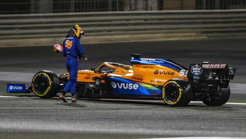 Für Carlos Sainz endete das Qualifying früher als gedacht