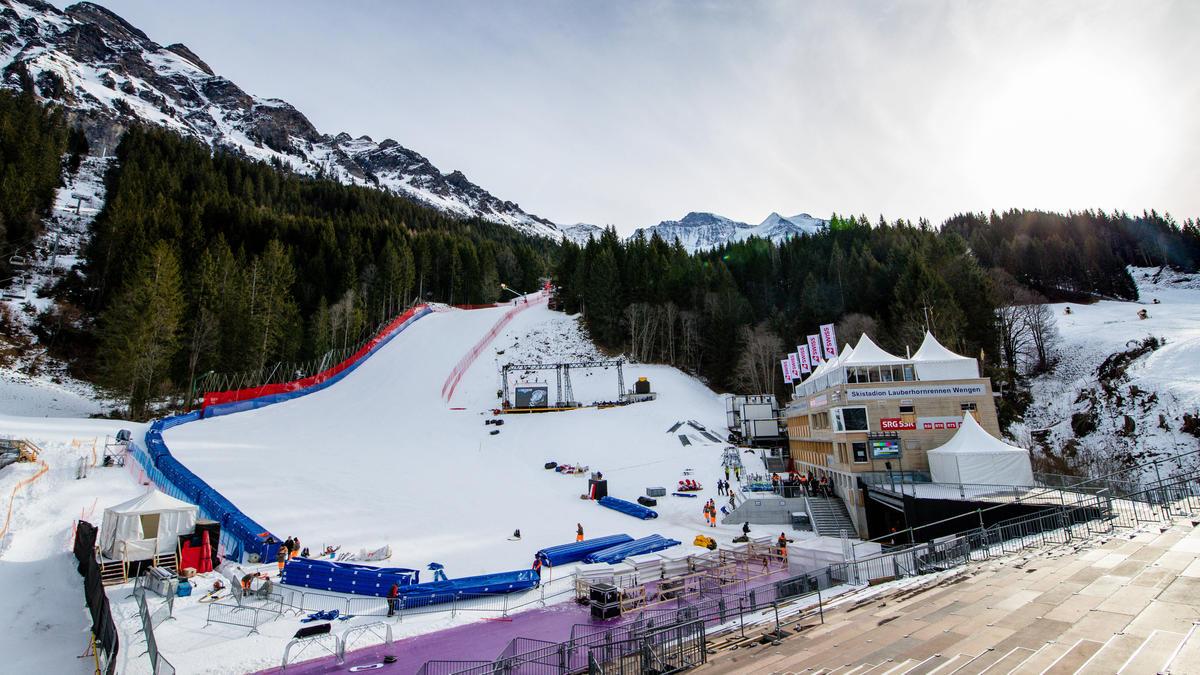 Am Lauberhorn wird es in diesem Jahr kein Ski-Rennen geben