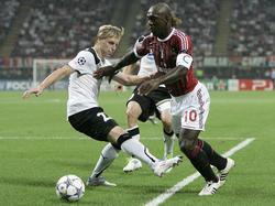 CL 2011/2012: Milan weist Plzen in die Schranken
