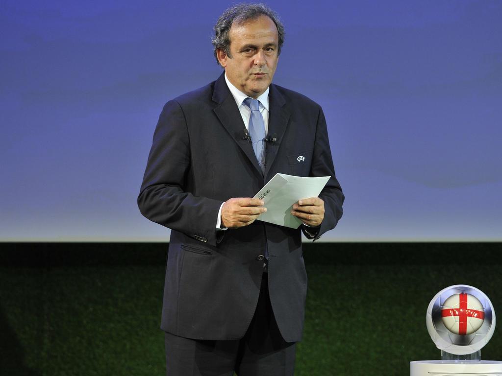 Michel Platini rührt die Werbetrommel für seine Wiederwahl