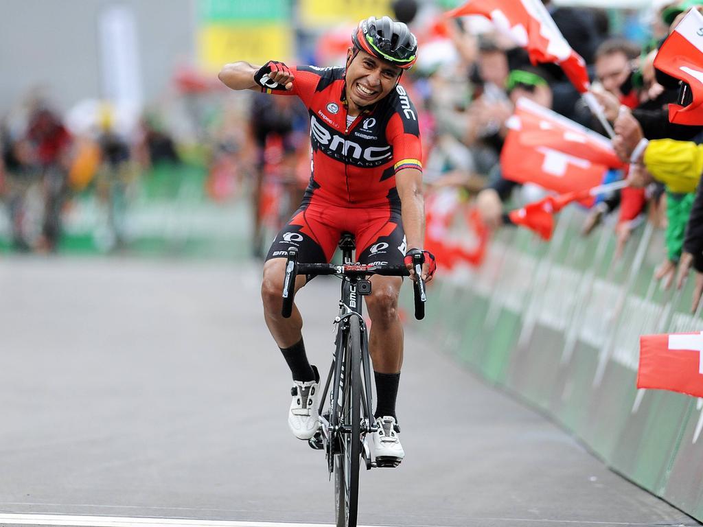 Darwin Atapuma sichert sich den Tagessieg bei der 5. Etappe der Tour de Suisse