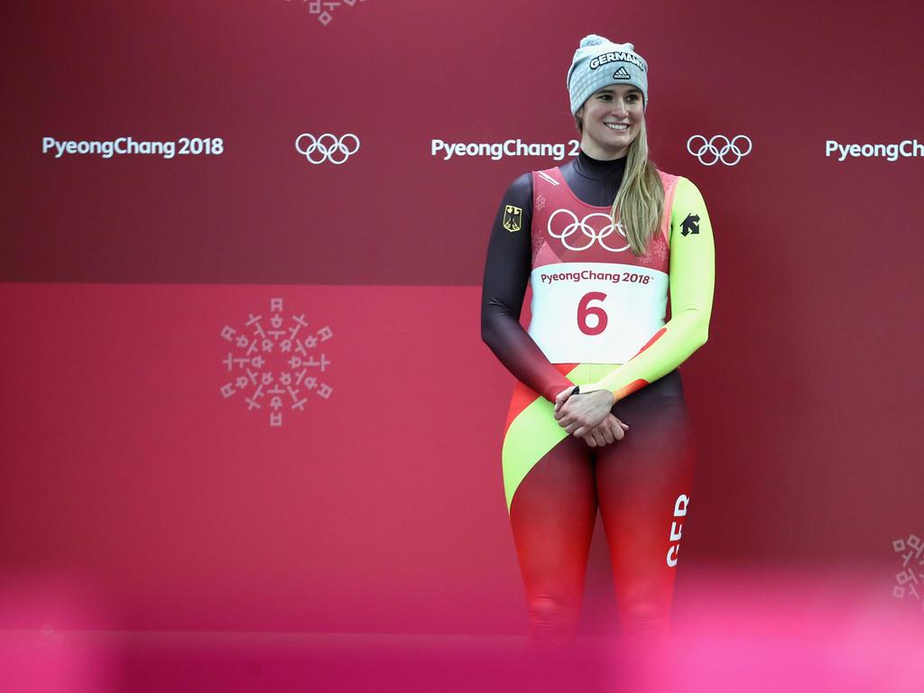 Natalie Geisenberger gewann in Pyeongchang ihr drittes Rodel-Gold