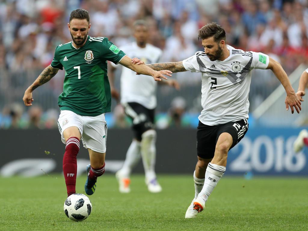 Marvin Plattenhardt durfte gegen Mexiko von Anfang an spielen