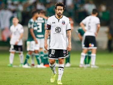 Jorge Valvidia se demuestra decepcionado tras el final del partido. (Foto: Getty)
