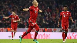 Robben celebra un tanto con el Bayern. (Foto: Getty)