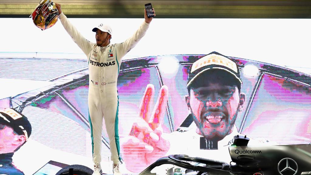 Lewis Hamilton ist in der Formel 1 zur Zeit das Maß aller Dinge