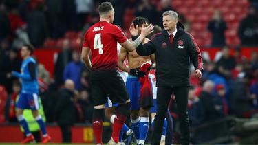 Manchester United siegt auch im FA Cup