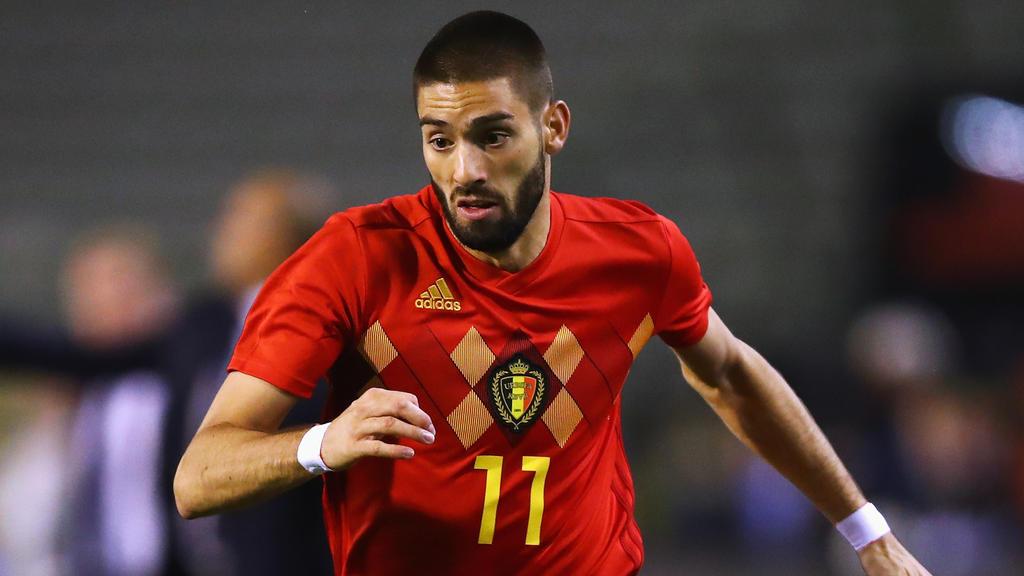 Yannick Ferreira-Carrasco feierte mit Belgien den dritten Platz bei der WM