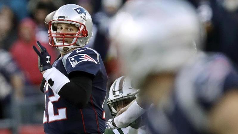 Der Star der New England Patriots: Quarterback Tom Brady