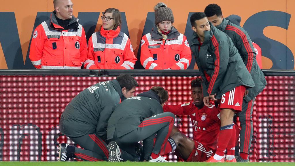 Kingsley Coman hat sich im Spiel gegen den FC Augsburg verletzt