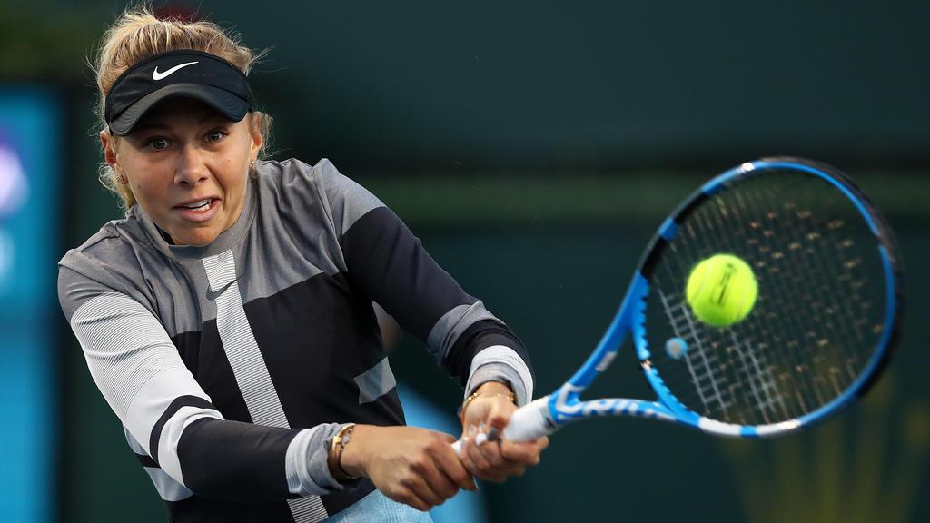 Amanda Anisimova gilt als nächster großer Stern am Tennis-Himmel