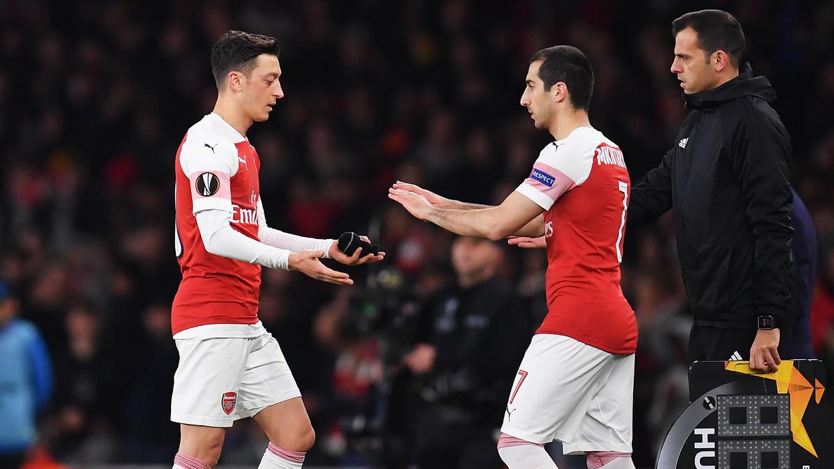 FC Arsenal will angeblich Mesut Özil und Henrikh Mkhitaryan loswerden