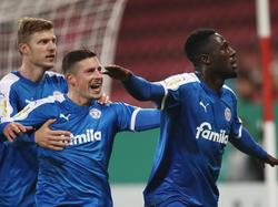 Die Kieler hinterließen trotz Niederlage auch in Mainz ihre Duftmarke