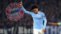 Der FC Bayern soll weiterhin an Leroy Sané interessiert sein