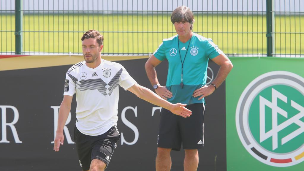 Jonas Hector fehlt der Nationalmannschaft verletzungsbedingt