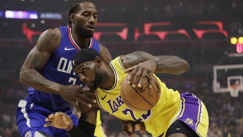 LeBron James und die Lakers unterlagen Kawhi Leonard und den Clippers