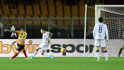 Calderoni schafft den Last-Minute-Ausgleich