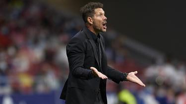 Diego Simeone ging mit Atlético vergangenes Jahr gegen den FC Bayern unter