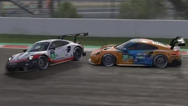 Die heißeste Szene in Rennen eins: Norris räumt Güven ab, beide fallen zurück