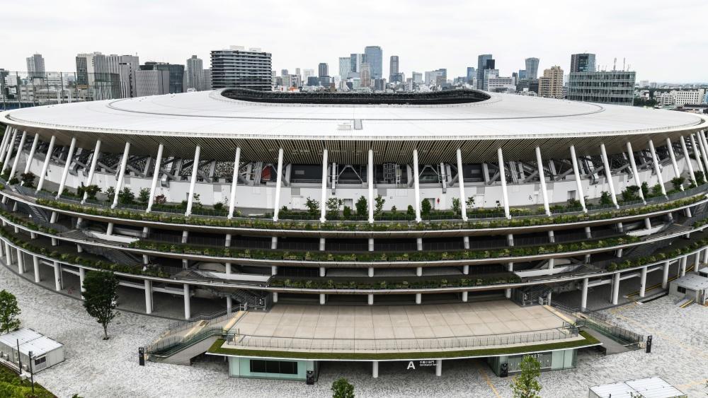 Das neue Stadion wird das Zentrum der Olympischen Spiele