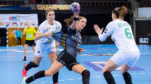 Xenia Smits traf gegen Budapest sechs Mal