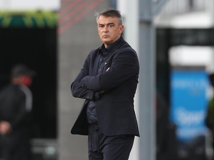Admira-Coach Damir Burić