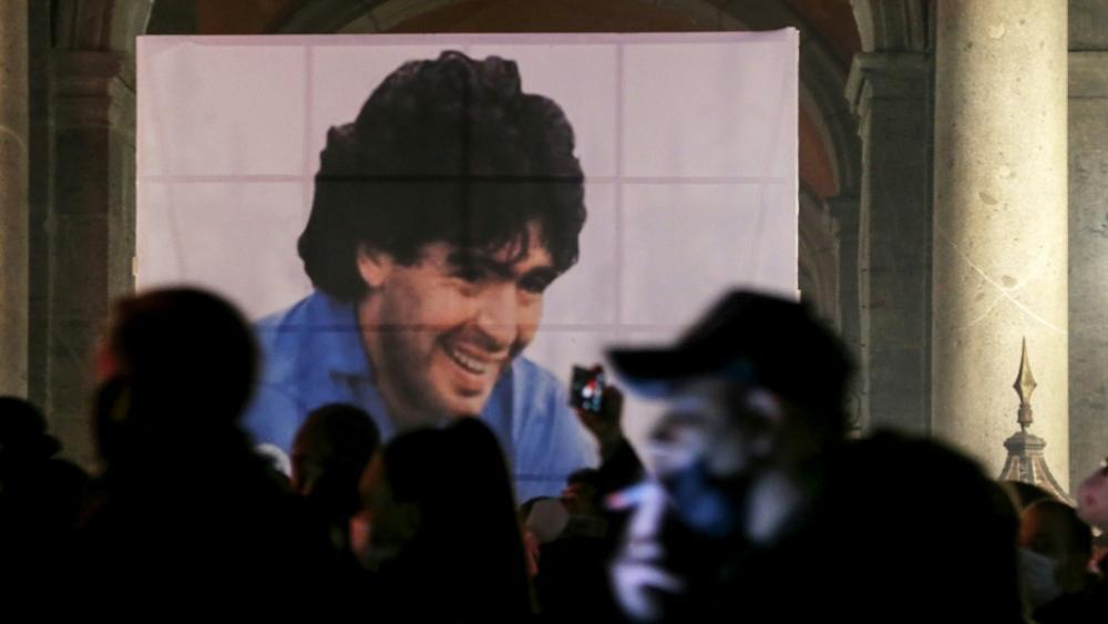 In Neapel ist Diego Maradona ein unsterblicher Volksheld