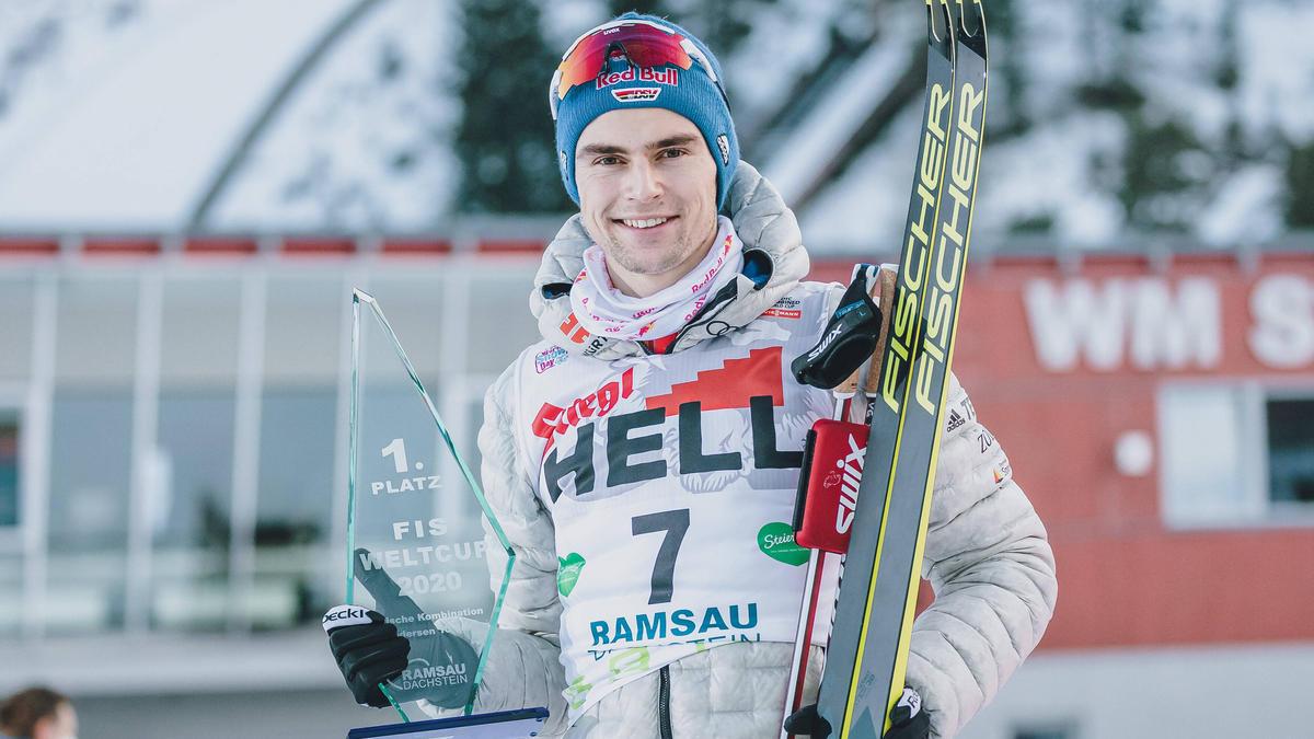 Vinzenz Geiger gilt bei der Nordischen Ski-WM als deutsche Gold-Hoffnung