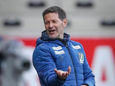 Rieds Neo-Trainer Andi Heraf hat derzeit Grund zur Freude