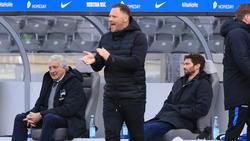 Pál Dárdai kritisiert die Spieler von Hertha BSC