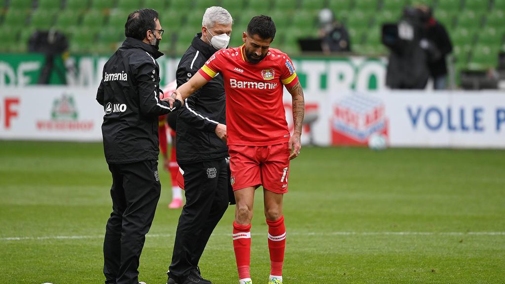 Kerem Demirbay verletzte sich in Bremen