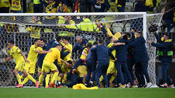 Der FC Villarreal hat im Finale der Europa League gegen Manchester United gewonnen