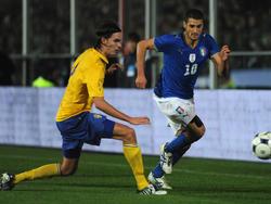 Italien schlägt Schweden