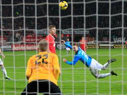 Treffer von Jakob Jantscher für NEC gegen Twente