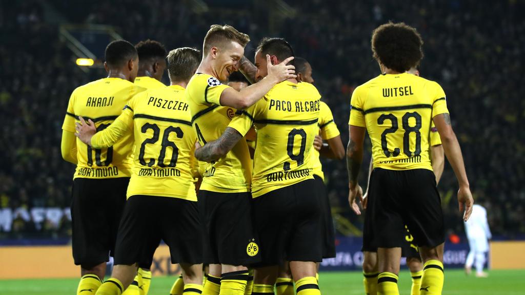 Der BVB feierte einen Sieg gegen AS Monaco