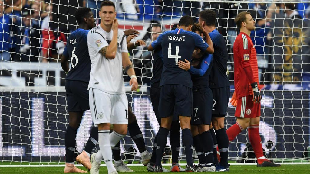Weltmeister Frankreich feierte einen glücklichen Sieg gegen Deutschland