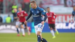 Jann-Fiete Arp hat beim HSV nicht die Hinrunde gespielt, die er sich erhofft hatte