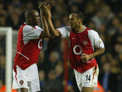 Gemeinsam haben sie Gunners-Geschichte geschrieben: Patrick Vieira und Thierry Henry